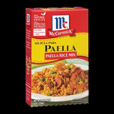 McCormick® Mezcla Para Paella, Paella Rice Mix