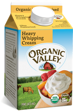 Organic Valley® Heavy Whipping Cream, Ultra Pasteurized