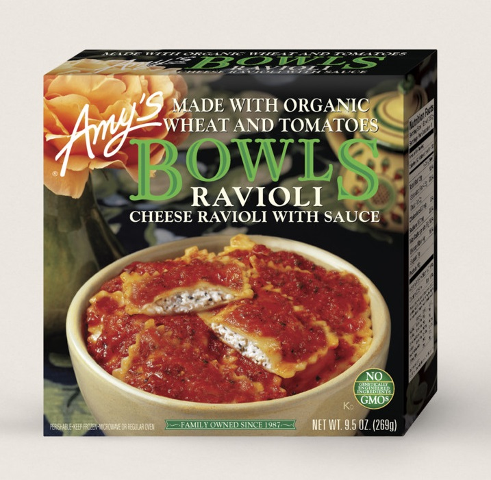 Amy's Kitchen Cheese Ravioli Bowl