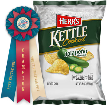 Herr's® Jalapeno Kettle Cooked Potato Chips