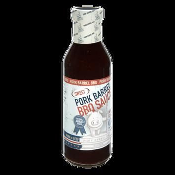 Pork Barrel Sweet BBQ Sauce