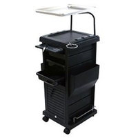 CHROMATIQUE Pro Lockable Rollabout Station w/ Tray (Model:100D)