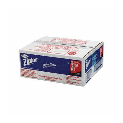 ZIPLOC Double Zipper Bags in Clear