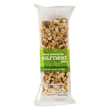 Earnest Eats Dark Power Grains with Flax Chewy Granola Bar 6.2 oz