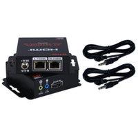 QVS HD-C5IRB 60-Meter Dual CAT5e/6/RJ45 Extender Kit