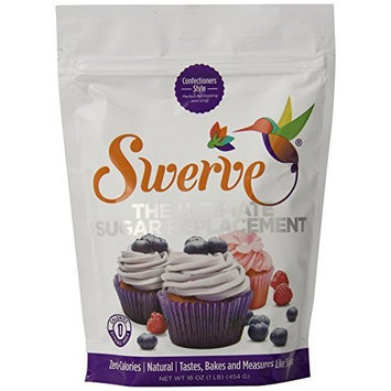 All-Natural Sweetener - Confectioners Style 16 oz Pwdr by Swerve