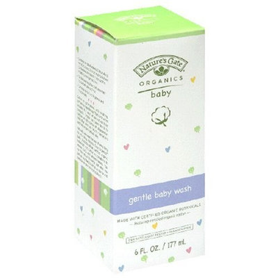 Nature's Gate Organics Baby Gentle Baby Wash, 6 fl oz (177 ml) (Pack of 2)