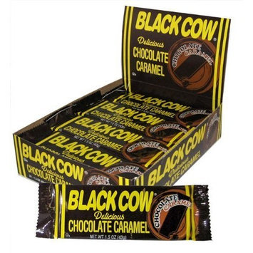 The Warrell Classic Co. Black Cow Chocolate Caramel Bars (6 Bars)
