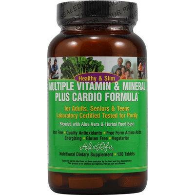 Aloe Life - Healthy & Slim Multiple Vitamin & Mineral Plus Cardio.