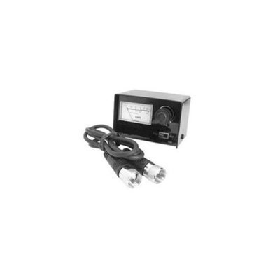 Accessories unlimited AUSWR SWR Meter with 3 ft. Coax Cable