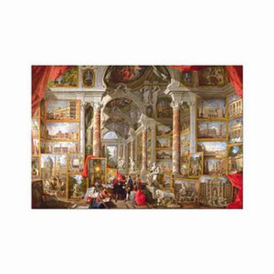 Educa Gallery with Views of Modern Rome Puzzle: 5000 pc Ages 14 and up, 1 ea