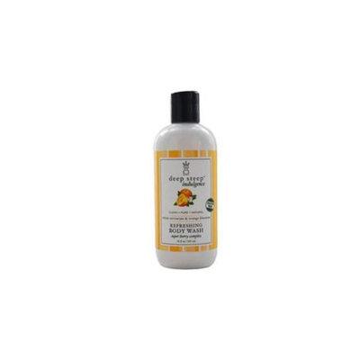 Deep Steep 0203DSI White Nectarine & Orange Blossom Refreshing Body Wash, Pack of 6