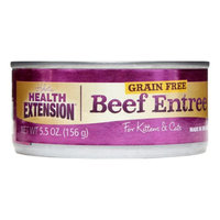 Health Extension Beef Entree Canned Cat Food