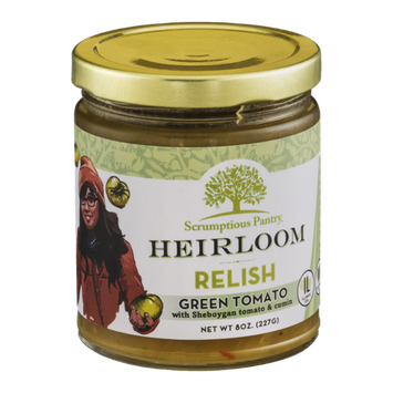 Scrumptious Pantry Heirloom Relish Green Tomato