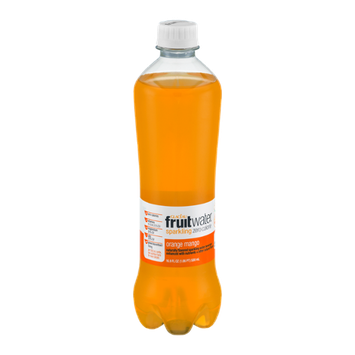 Glaceau Fruit Water Sparkling Zero Calorie Orange Mango