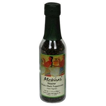 Melina's Malabar Peppercorns, 2.75-Ounce Bottle (Pack of 6)