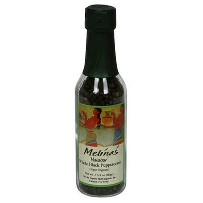 Melina's Malabar Peppercorns, 2.75-Ounce Bottle (Pack of 6)