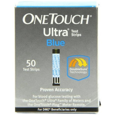 OneTouch One Touch Ultra Blue Test Strips 50 Count