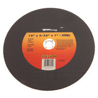 Forney 72352 Chop Saw Blade Type 1 High Speed Metal with 1-Inch Arbor A24R-BF 12-Inch-by-5/32-Inch