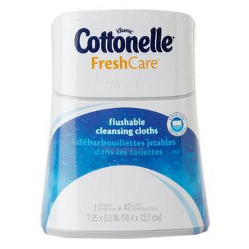 Cottonelle Fresh Care Cleansing Cloths Dispenser, 42 ea
