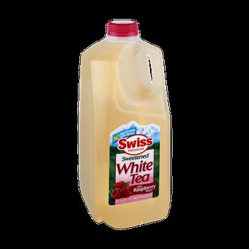 Swiss Premium Raspberry Flavor Sweetened White Tea