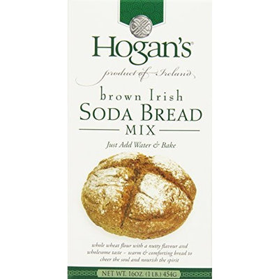 Hogans Hogan's Brown Irish Soda Bread Mix, 16-Ounce Boxes (Pack of 4)