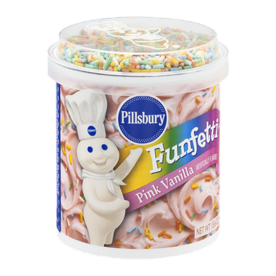 Pillsbury Funfetti Pink Vanilla Frosting