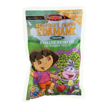 Seapoint Farms Edamame Organic Shelled Soybeans Kids Packs - 8 CT