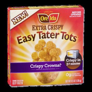 Ore Ida Extra Crispy Easy Tater Tots Crispy Crowns