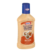 Kraft Anything Dressing Thousand Island With Bacon