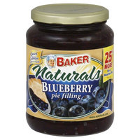 Baker S Secret Baker Naturals Pie Filling Blueberry 27 oz