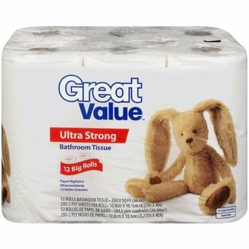 Great Value Ultra Strong Bathroom Tissue Reviews Find