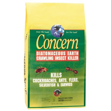 Woodstream Concern 97064 Diatomaceous Earth Crawling Insect Killer 4 Pound Bag