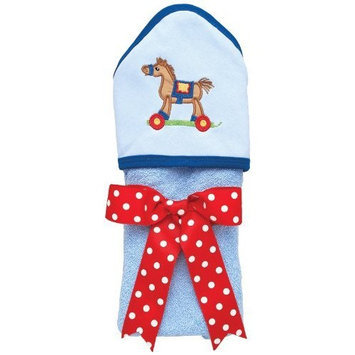 AM PM Kids! Hooded Towel, Tan Pony (Discontinued by Manufacturer)