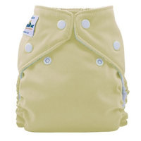 FuzziBunz Perfect Size Cloth Diaper, Buttercream, X-Small 4-12 lbs (Discontinued by Manufacturer)