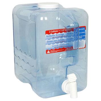 Arrow Plastic Mfg. Co. 00743 2 Gallon Beverage Dispenser Container