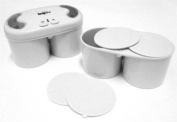 Koolatron FT04-WH Deluxe Double Treat Ice Cream Maker - White