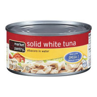 Market Pantry Solid White Tuna Albacore in Water 12-oz.
