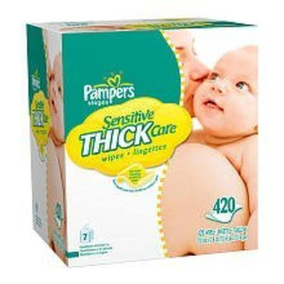 Pampers Sensitive Thick Care Wipes