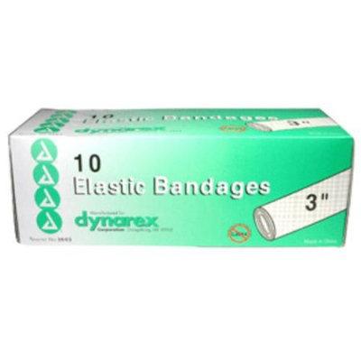 Dynarex Elastic Bandages, Latex Free, 3 x 4.5 yards, 10/Bx