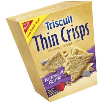 Triscuits Thins Crisps, Four Cheese, 7.6-Ounce (Pack of 3)