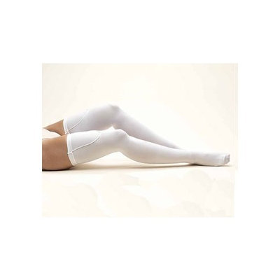 Anti Embolism Stockings Truform 8810, Compression Stockings, Thigh Length, Anti-Embolism, Closed-Toe, 18 mmHg, White, X-Large