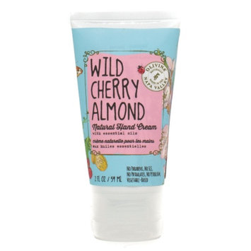 Olivina Natural Hand Cream, Wild Cherry Almond, 2 fl oz