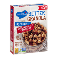 Barbara's Better Granola Dark Chocolate Cranberry