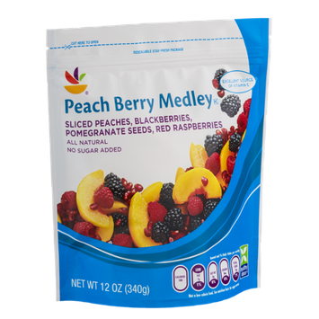 Ahold Peach Berry Medley