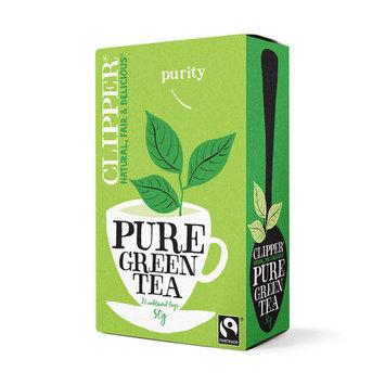 Clipper Fairtrade Pure Green Tea