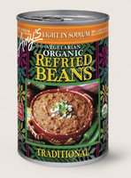 Amy's Kitchen Organic Vegetarian Traditional Refried Beans, Light In Sodium