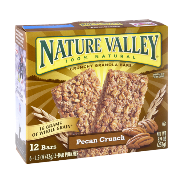 Nature Valley™ 100% Natural Pecan Crunch Crunchy Granola Bars
