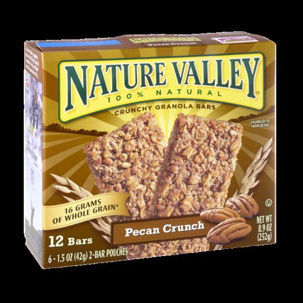 Nature Valley™ 100% Natural Pecan Crunch Crunchy Granola Bars