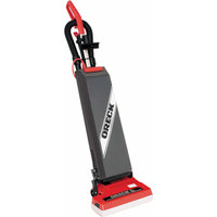 Oreck Commercial ORECK COMMERCIAL SALES Upright Vacuum,w/ On-Board Tools,1000 Watts, Dual Motor, Red